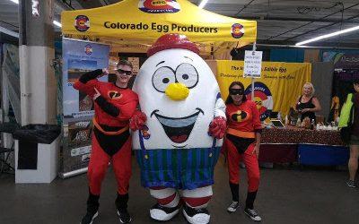 Denver Co. Fair attendees enjoy meeting the 'Incredibles,' Egg-Bert, CEP staff