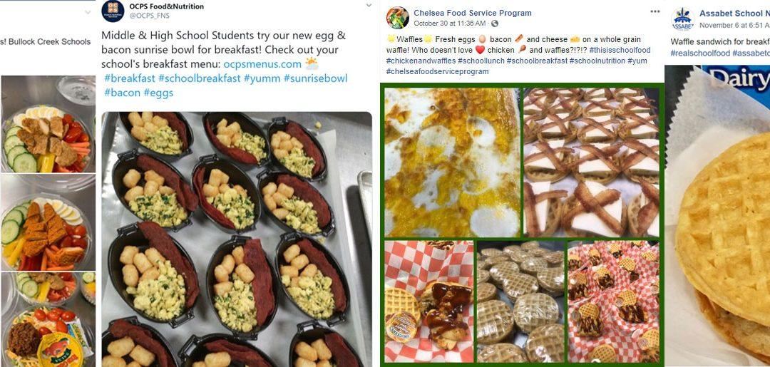 More Eggs on School Menus