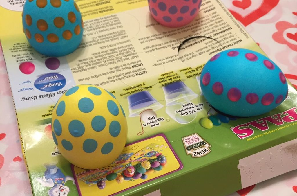 Polka Dot Eggs