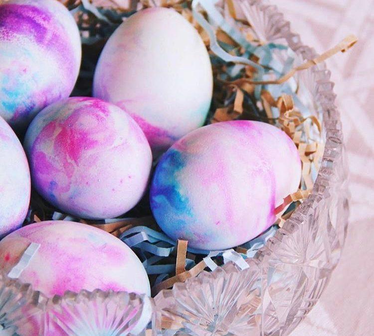 Decorate Eggs W/ Whip Cream
