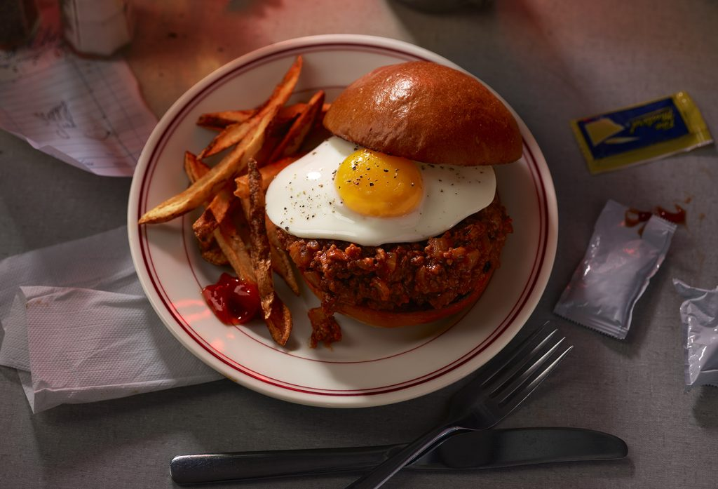 Dee's Sloppy Joes with Eggs