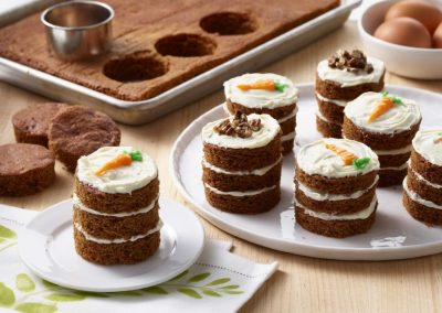 Carrot Cake Mini Stacks