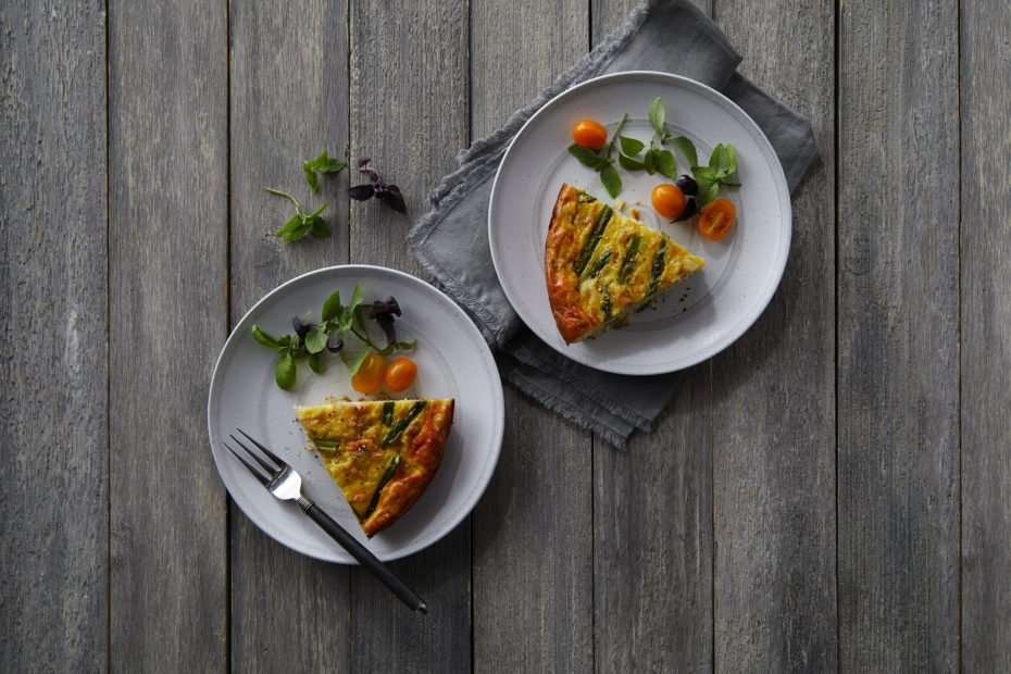 Easy As Pie Crab Quiche