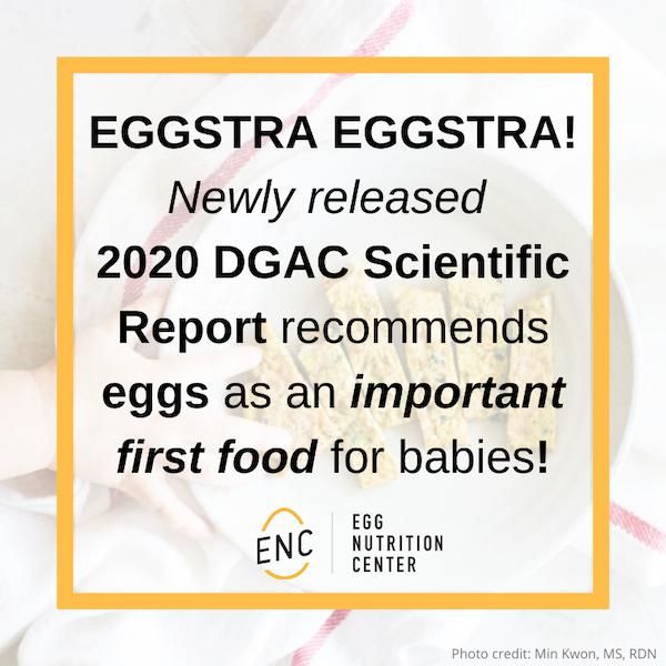 DGA Scientific Report Recommends Eggs