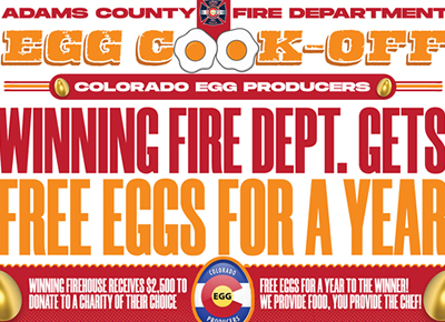 Adams County Fire Department Egg Cook-off Competition – Major Points